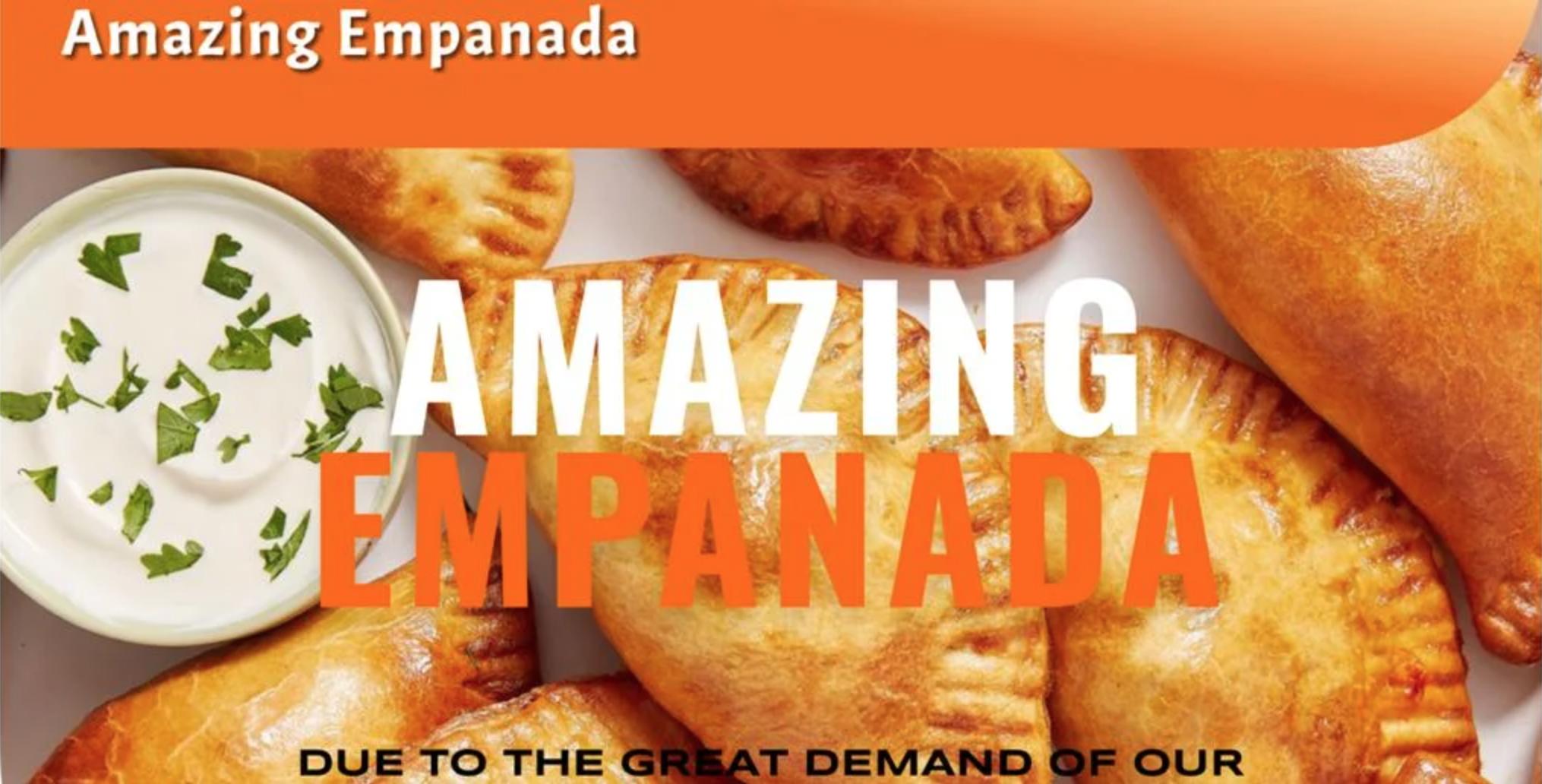 Amazing empanada